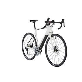 Cube Agree Hybrid C:62 SL Disc Aksium - Bicicletas eléctricas de carretera - blanco/negro